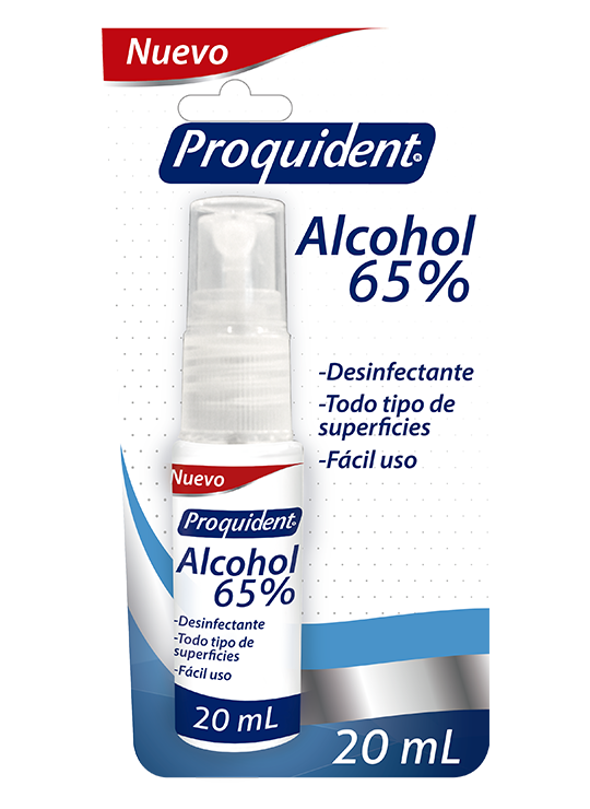 Alcohol 65 % Viajero 20mL